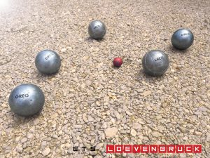 gravure boules de pétanque